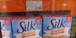 The Ultimate Costco Meal plan Almond Milk