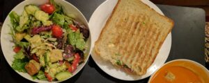 The Ultimate Costco Meal Plan -Panini-Salad-Soup