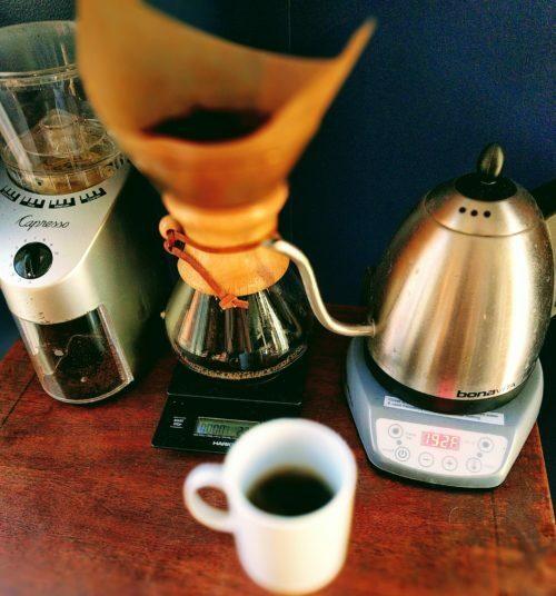 my coffee command center