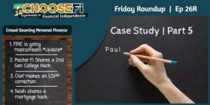 Friday Roundup 026R