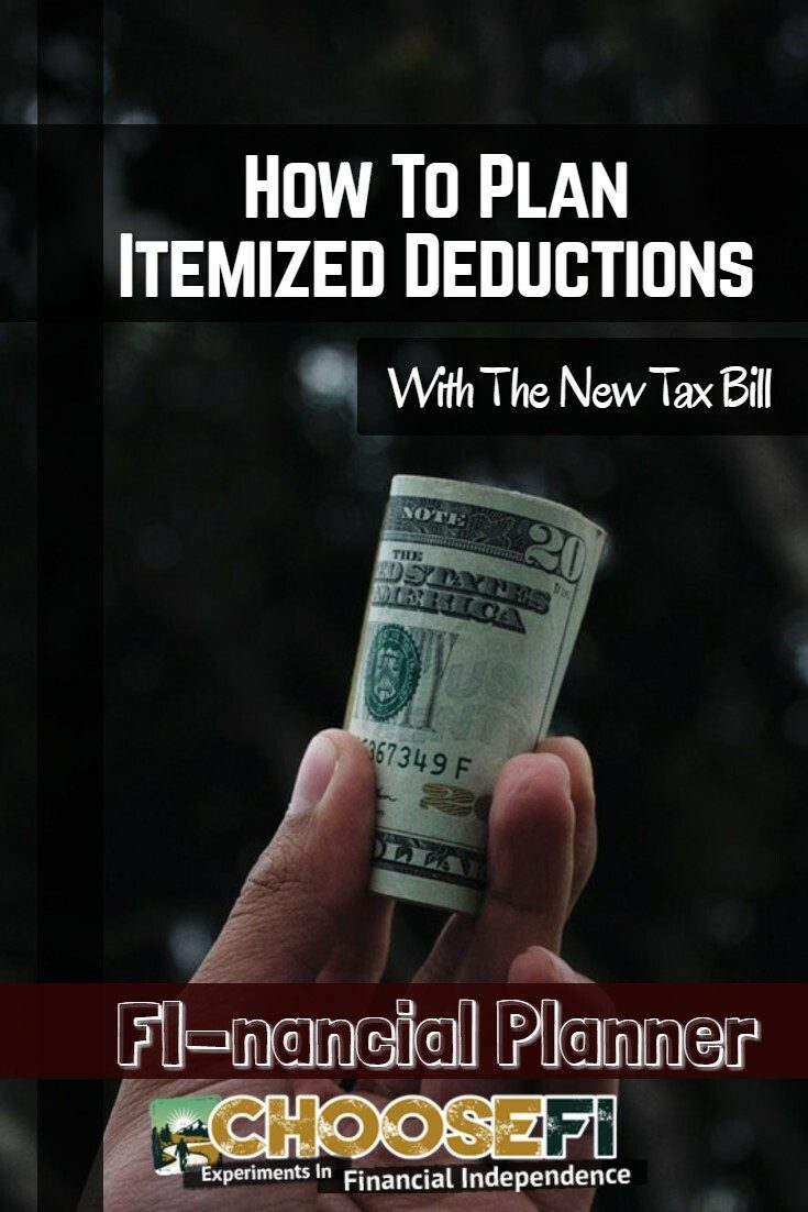 How To Plan Itemized Deductions With The New Tax Bill