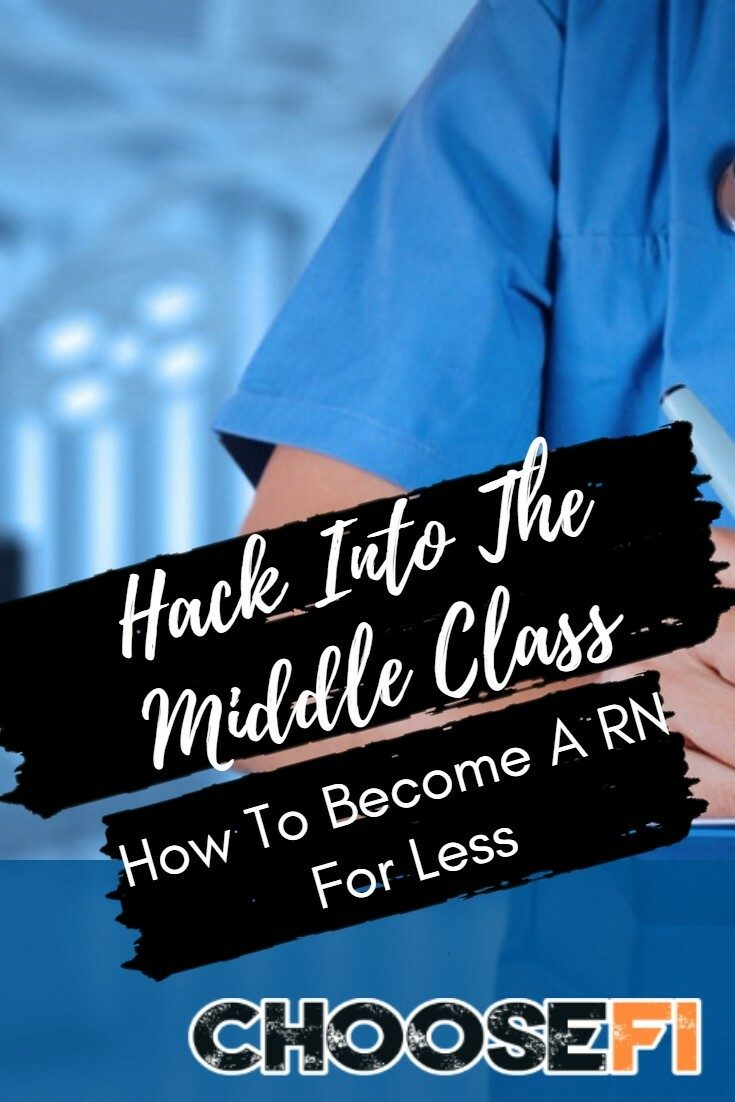 Hack Into The Middle Class--How To Become A RN For Less
