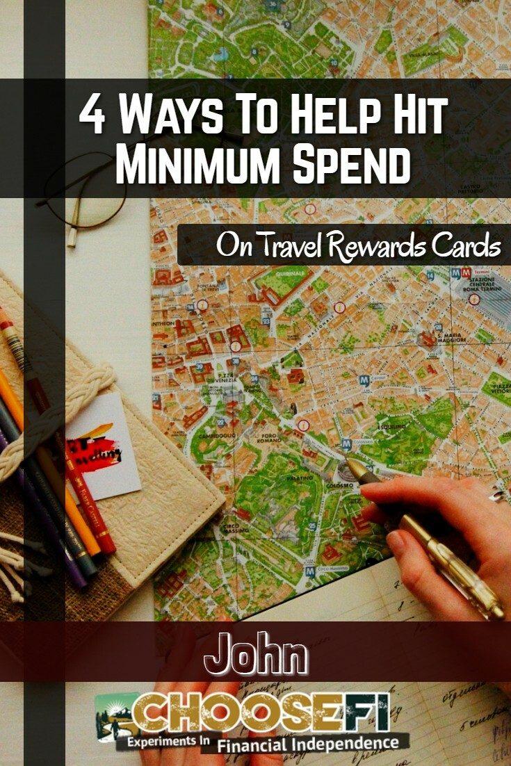 4 Ways To Help Hit Minimum Spend On Travel Rewards Cards