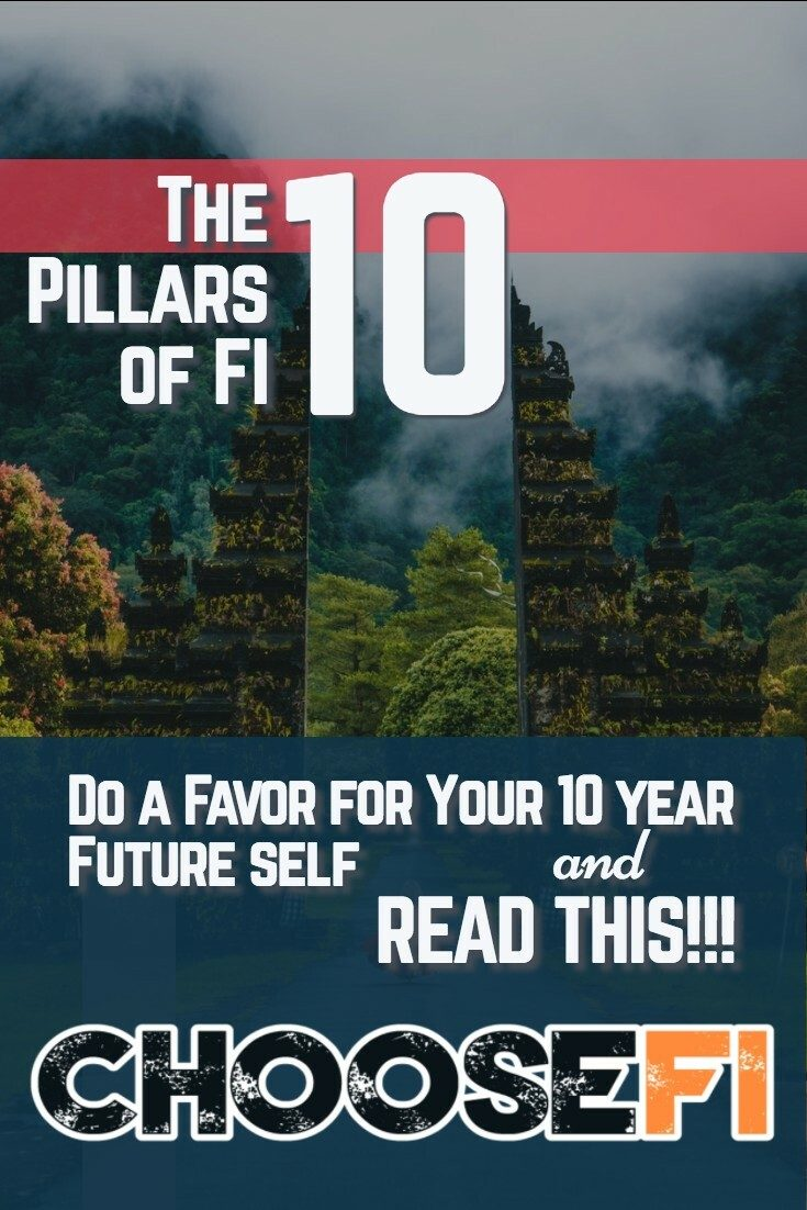10 Pillars of FI Pin