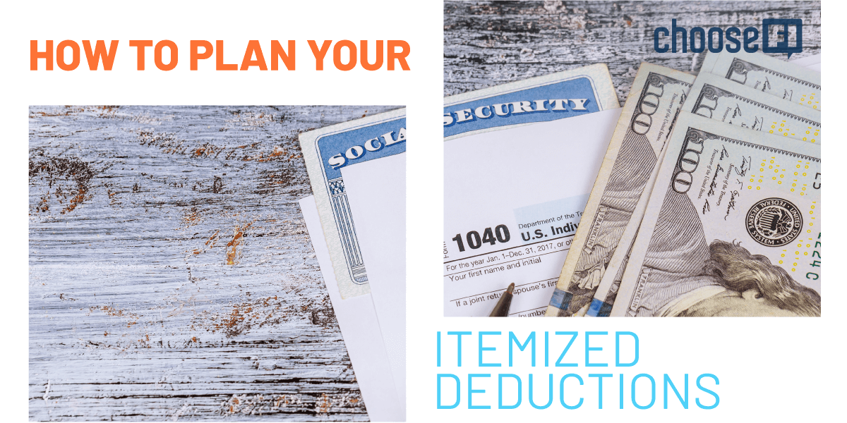 How To Plan Your Itemized Deductions