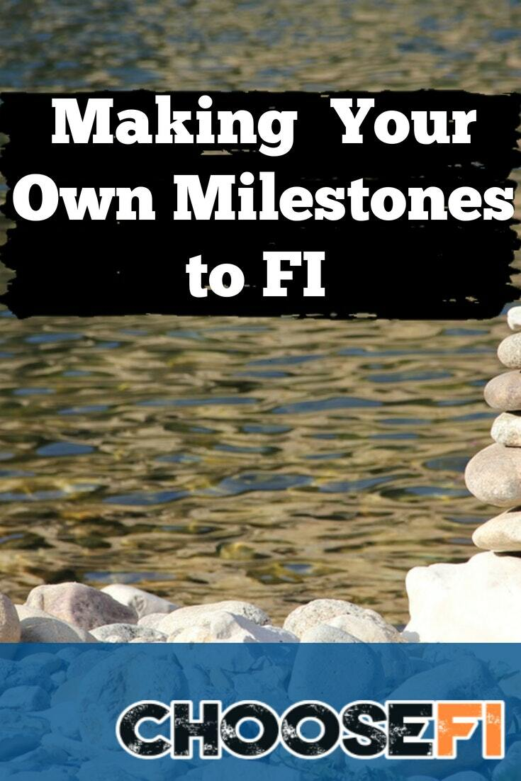 Making Your Own Milestones to FI Pin