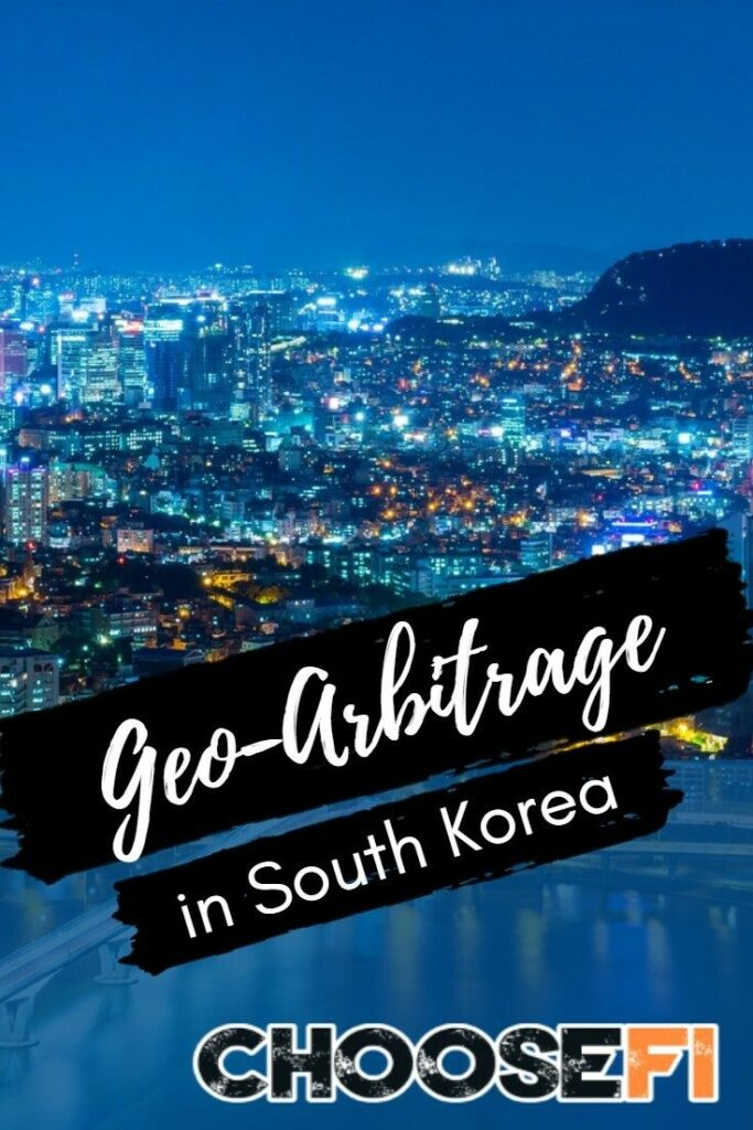 Geo-Arbitrage in South Korea