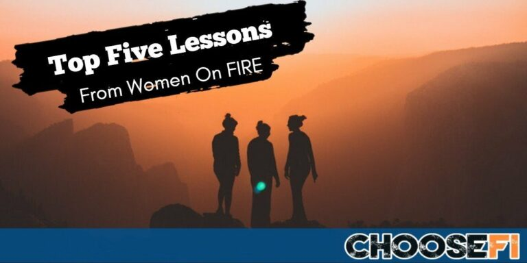 Top Five Lessons From Women On FIRE