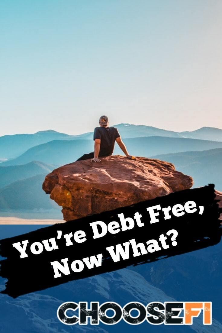 Debt free pin