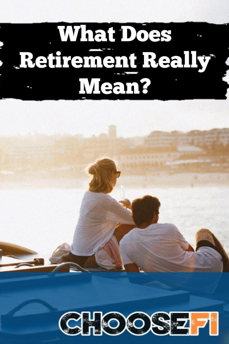 Retirement mean Pin