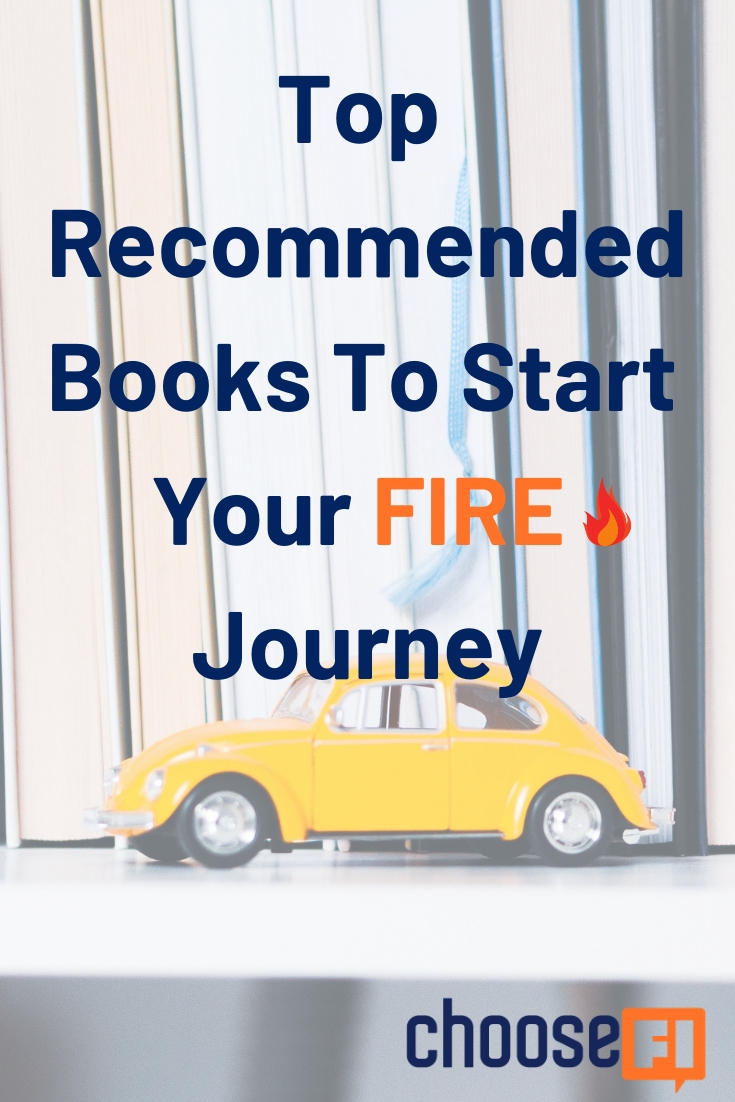 Top Recommended Books Start FIRE Journey pin