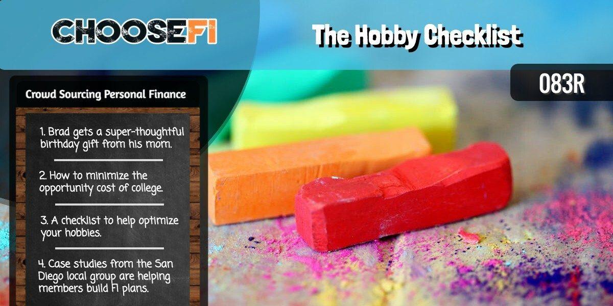 083R The Hobby Checklist