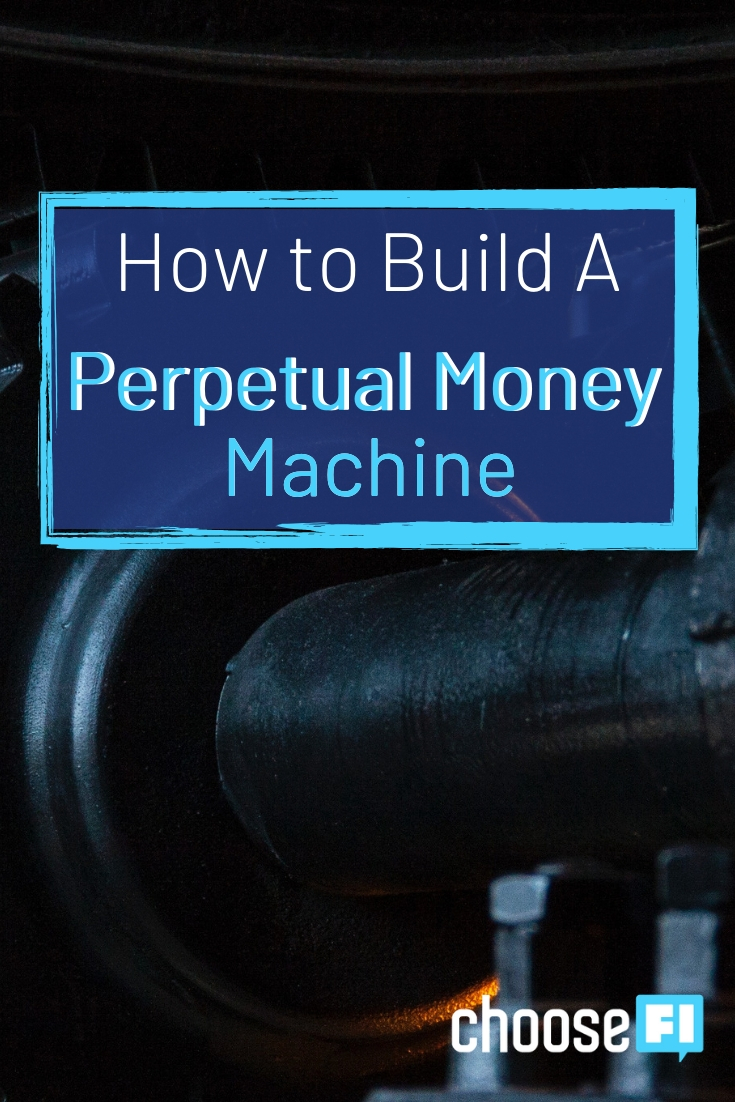 Perpetual Money Machine Pin