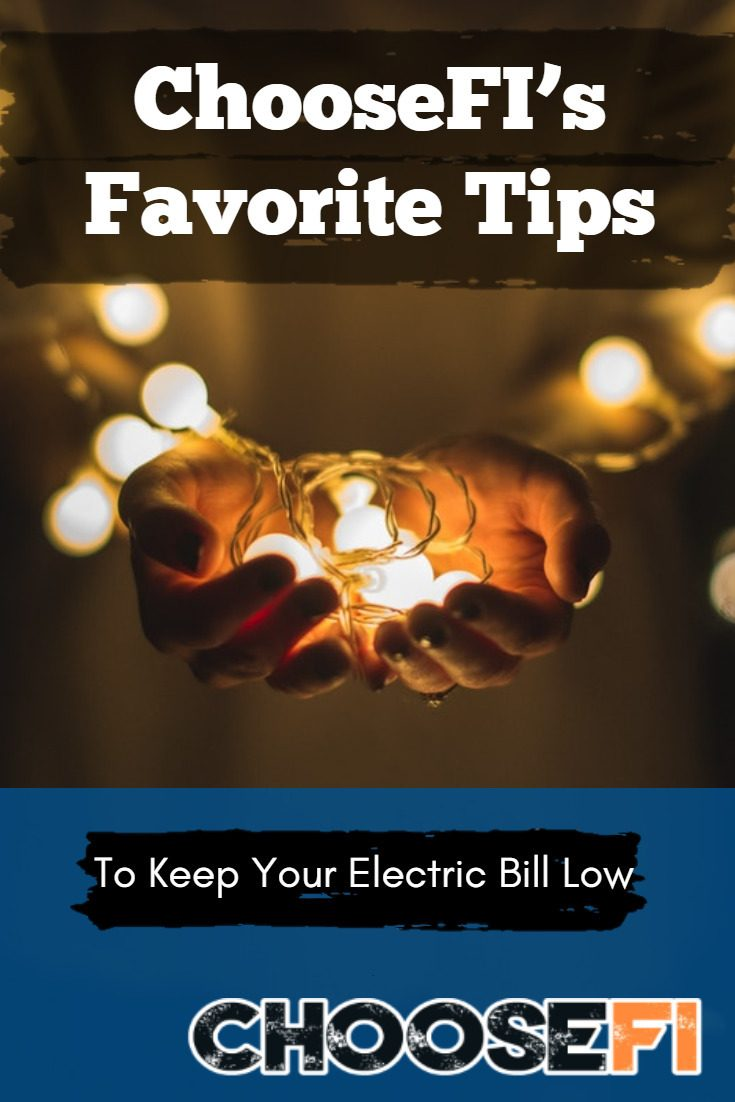 Lower your electric bill