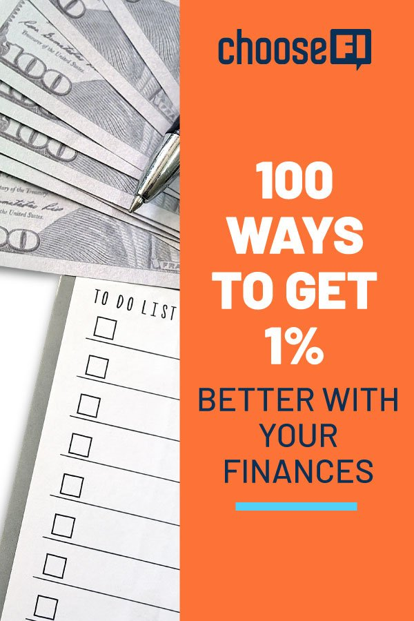 100 Ways To Improve Your Finances By 1%