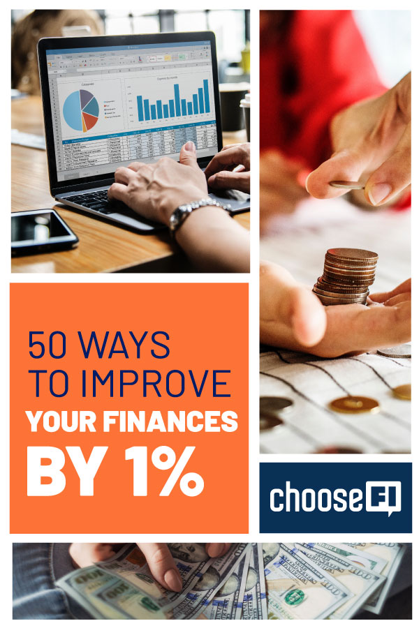 50 Ways To Improve Your Finances By 1%