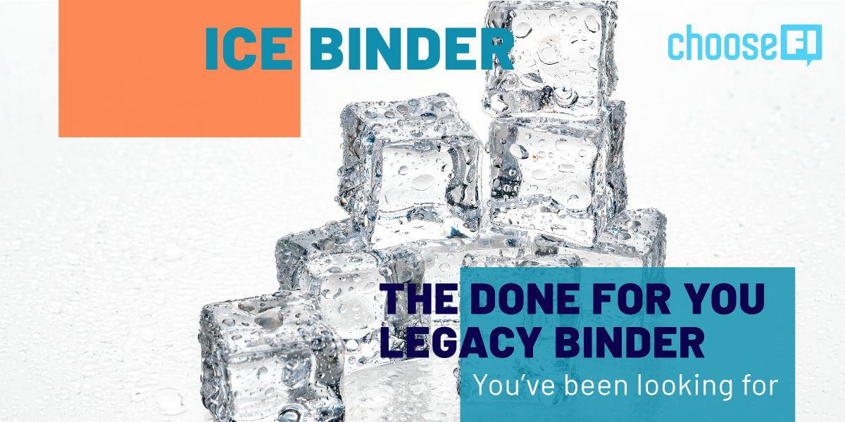 ICE Binder--The Done For You Legacy Binder You've Been Looking For