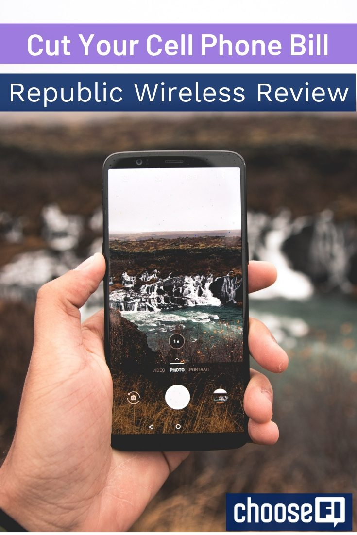 Republic Wireless Review Cut Cell pin