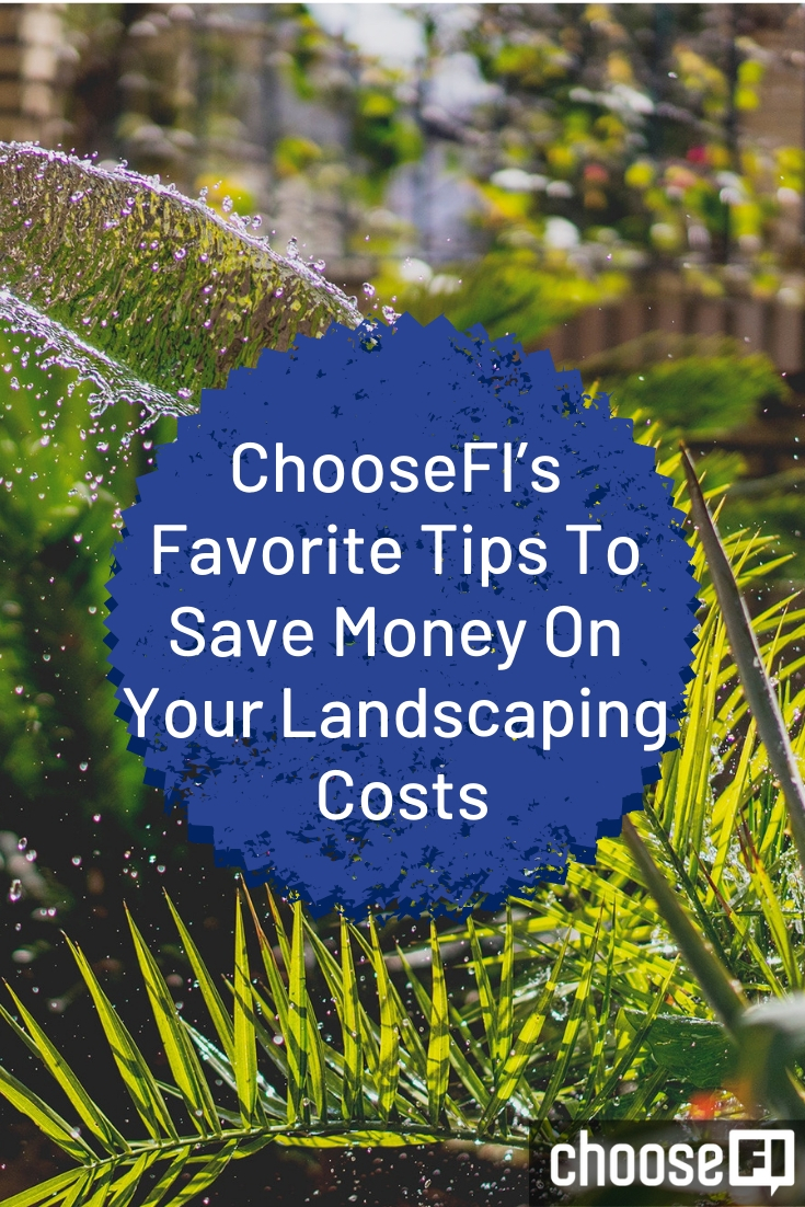 Save Money On Your Landscaping Costs pin