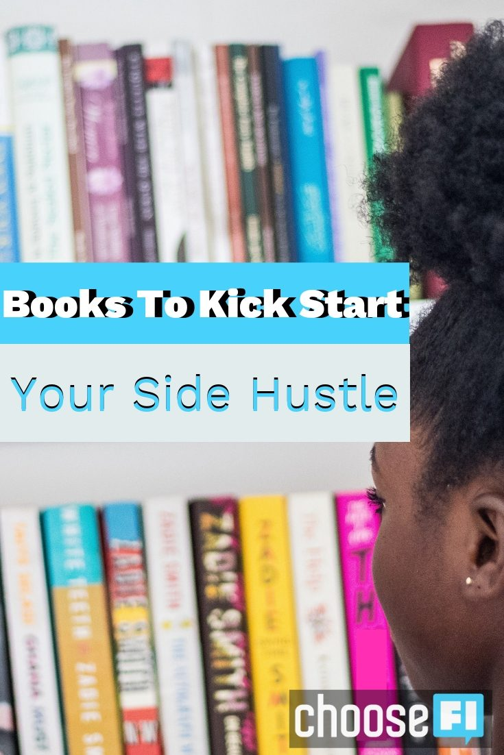 Books To Kick Start Your Side Hustle pin