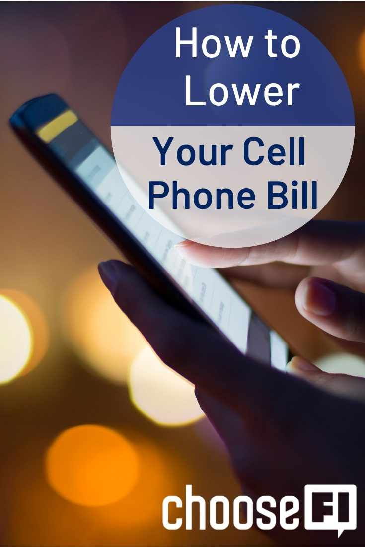 Lower Your Cell Phone Bill pin
