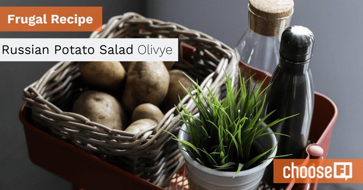 Frugal Recipe: Russian Potato Salad--Olivye