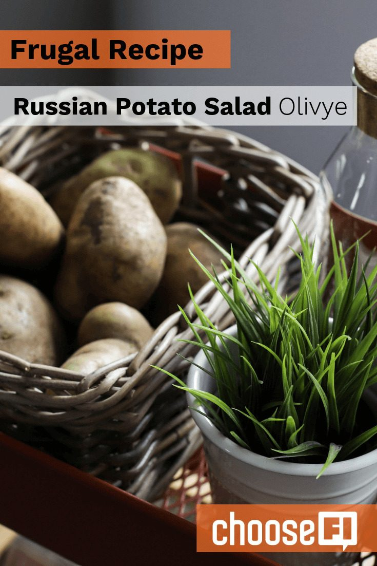 Frugal Recipe: Russian Potato Salad--Olivye