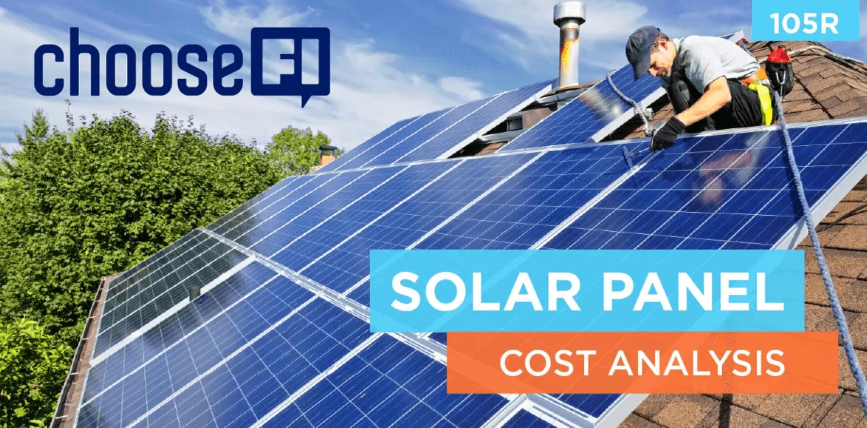 105r Solar Panel Cost Analysis Choosefi