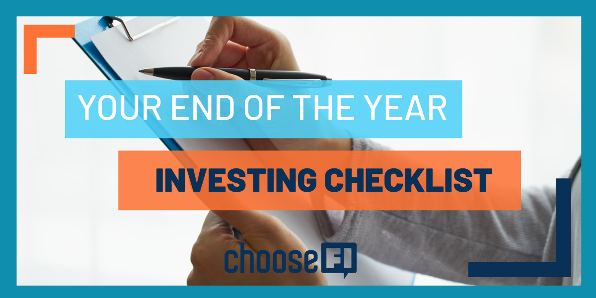 Your End Of Year Investing Checklist