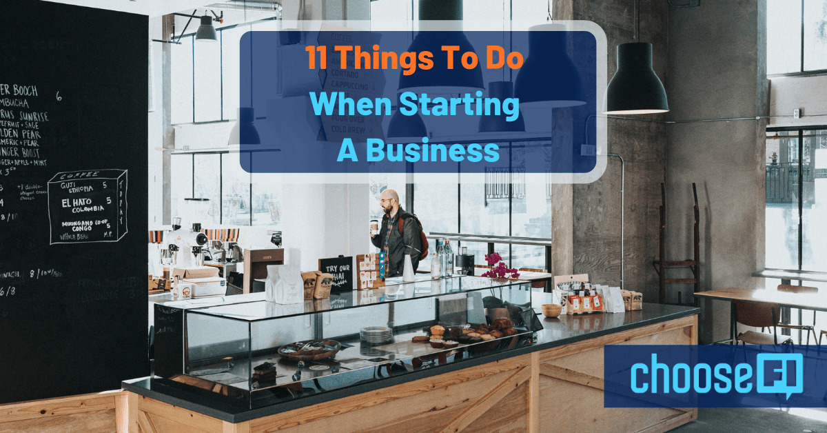 11 Things To Do When Starting A Business