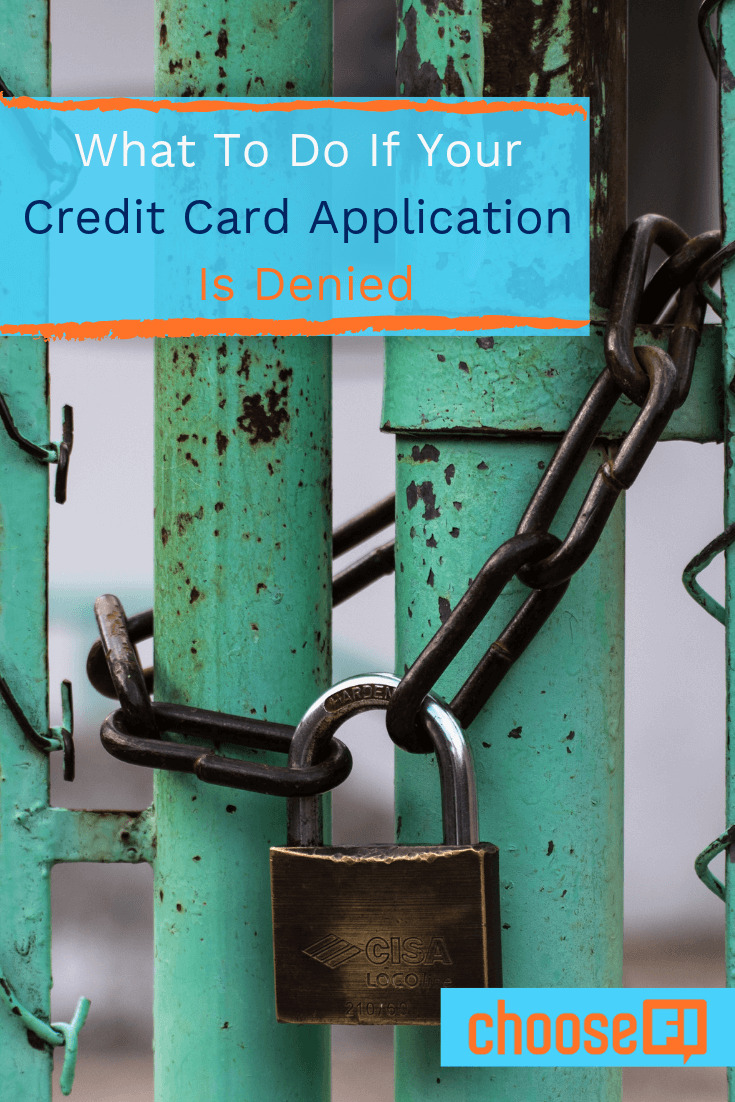 What To Do If Your Credit Card Application Is Denied
