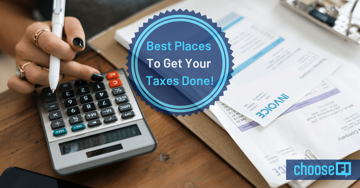 Best Places To Get Your Taxes Done!