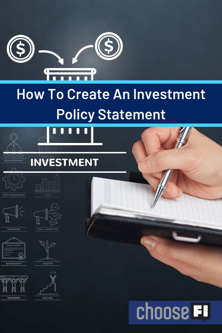 How To Create An Investment Policy Statement
