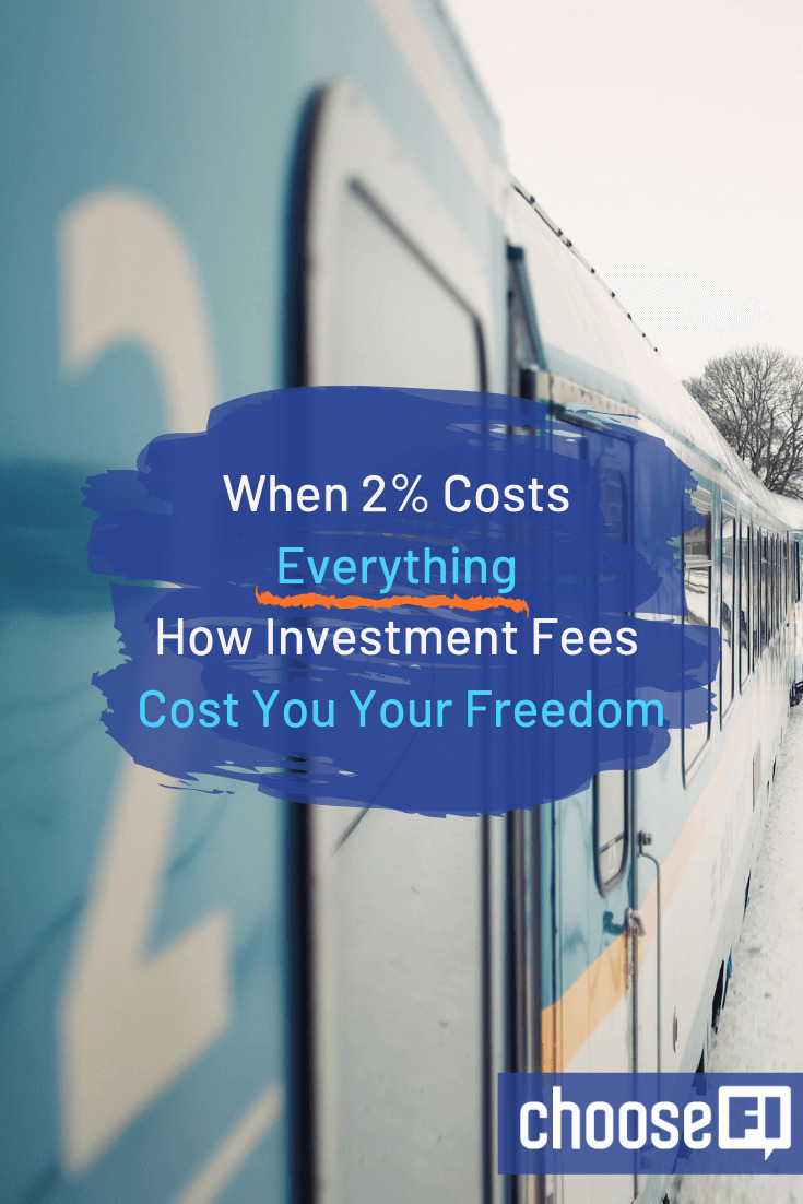 When 2% Costs Everything: How Investment Fees Cost You Your Freedom