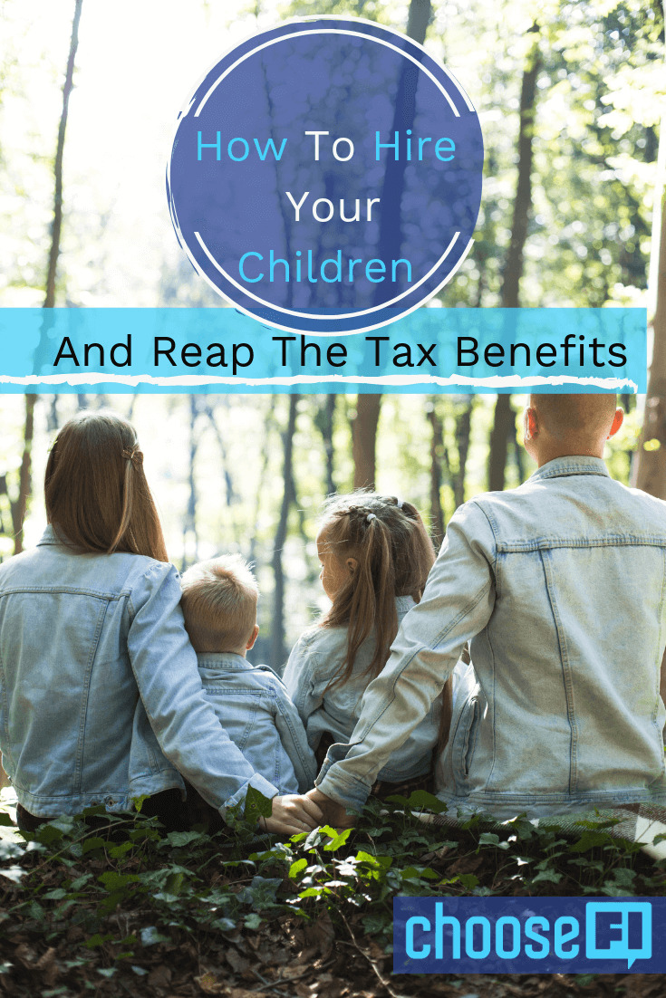 How To Hire Your Children And Reap The Tax Benefit