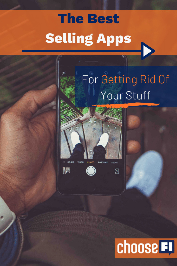 The Best Selling Apps For Getting Rid Of Your Stuff