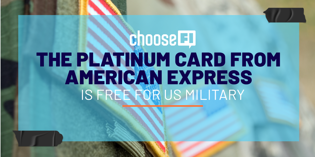The Platinum Card From American Express Is Free For US Military: Here's How