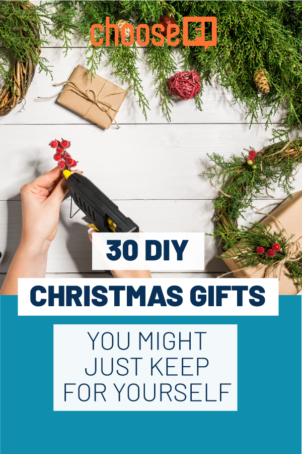 30 DIY Christmas Gifts That You Just Might Keep For Yourself