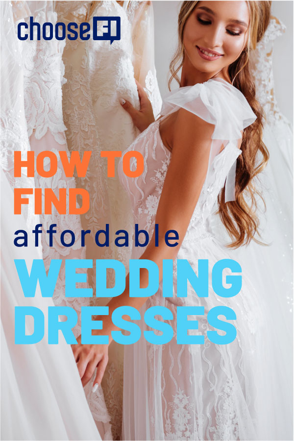 How To Find Affordable Wedding Dresses