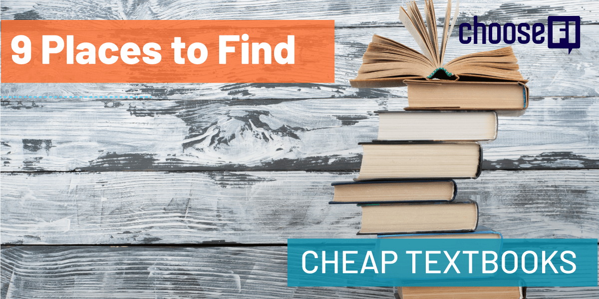 9 Places To Find Cheap Textbooks