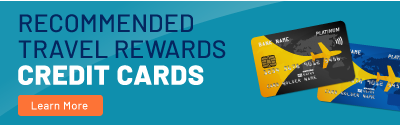 You can travel for free or very little using these travel rewards cards.