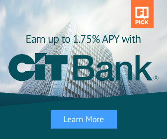 earn up to 1.75% APY with CIT bank