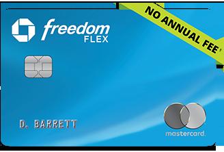 Chase Freedom Flex by Mastercard