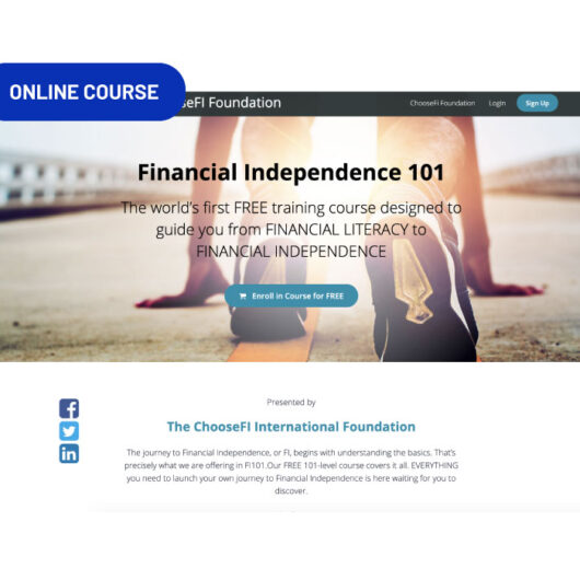 Start page of the FI 101 course