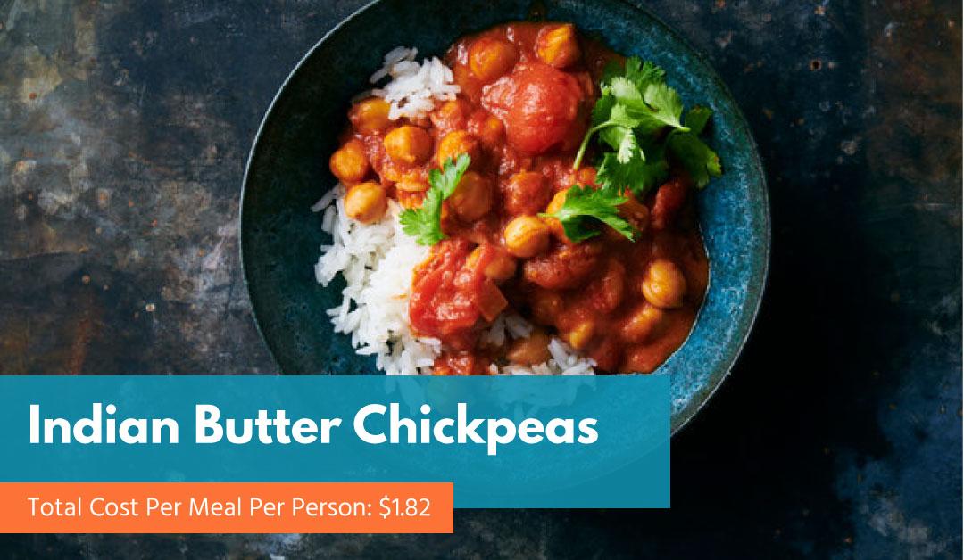Indian Butter Chickpeas