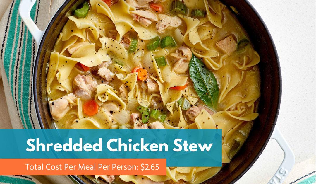 Shredded Chicken Stew