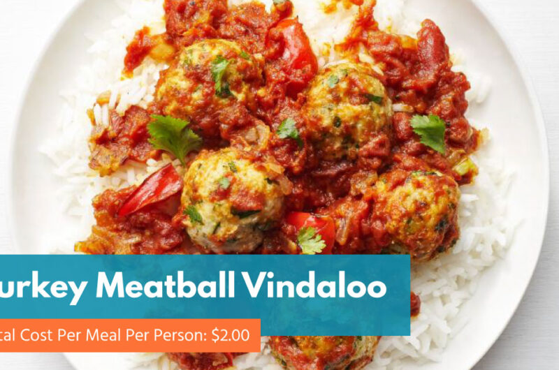 Turkey Meatball Vindaloo
