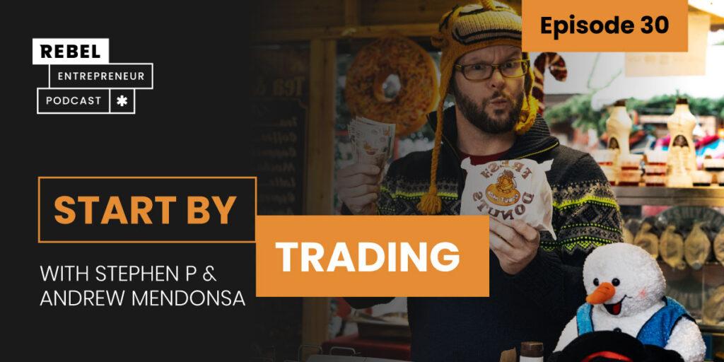 Start By Trading Artwork