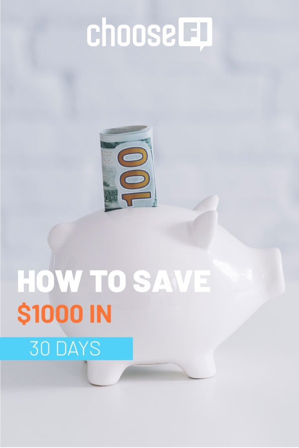 How To Save $1,000 In 30 Days!